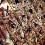 Peynirli Ispanaklı Tepsi Böreği 6