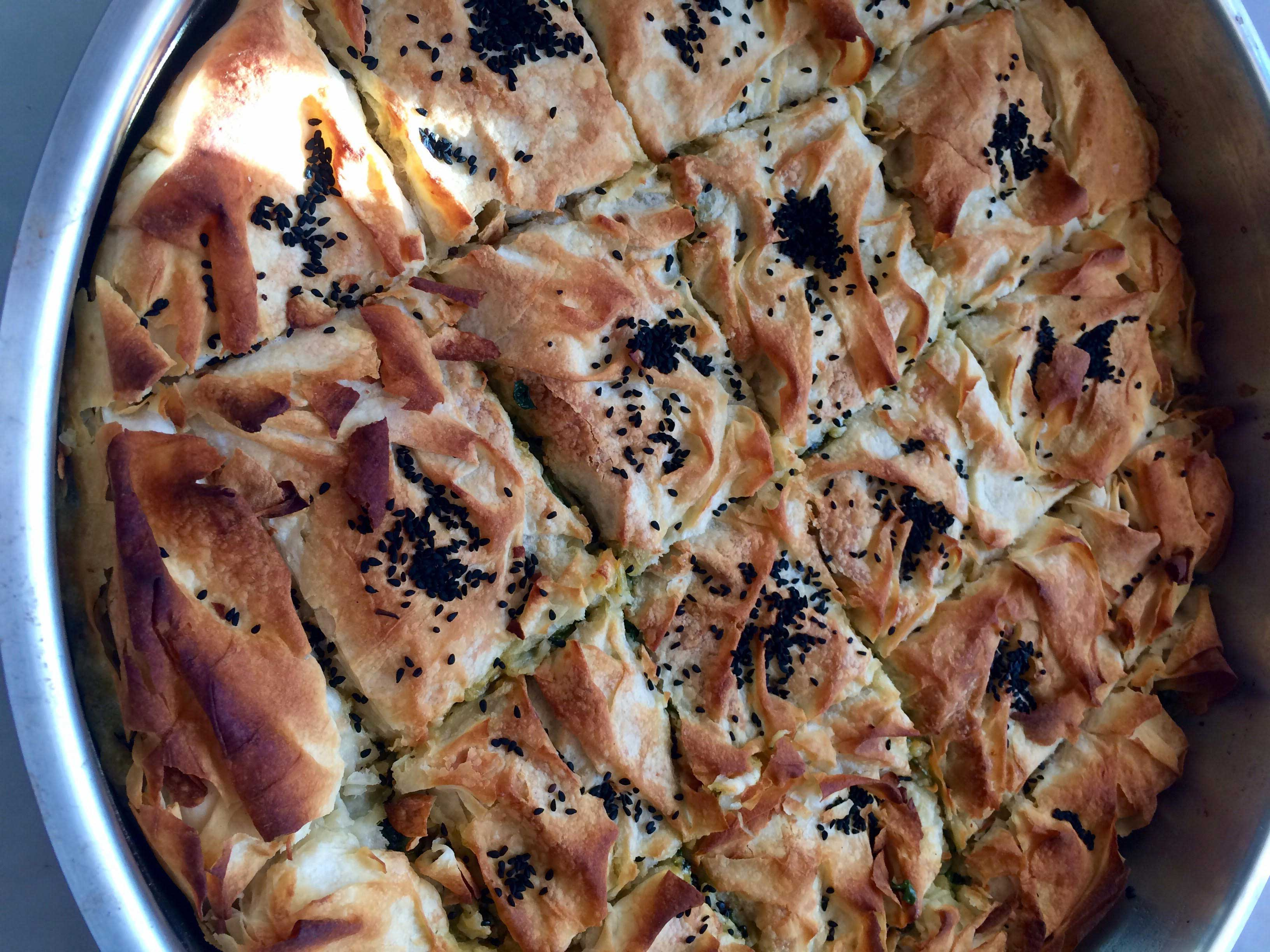 Ispanaklı Ve Ezine Peynirli Pizza Tarifi